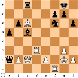 Smejkal-Hracek 1996, White to move and win